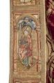 MCC-21485 Rode koorkap met verrijzenis op schild, aurifriezen met Bonifatius, Augustinus en Barbara (9).tif