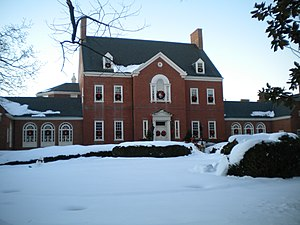 Government House (Maryland) - Maryland Government House in late December 2009