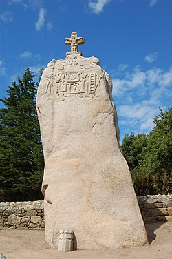 Image illustrative de l'article Menhir de Saint-Uzec