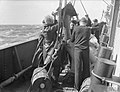 MEN OF THE BRITISH CORVETTE, HMS VERVAIN, ON ACTIVE SERVICE. 9-10 JULY 1942. A10673.jpg