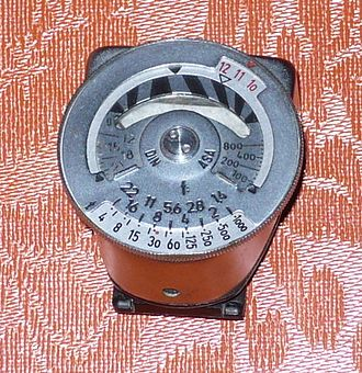 Light meter - METROPHOT