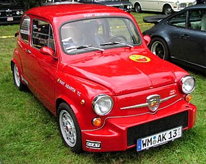 fiat 750 abarth wikip dia. Black Bedroom Furniture Sets. Home Design Ideas
