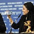 MJK 74704 Mohammad and Baran Rasoulof (Golden Bear, Berlinale 2020).jpg
