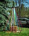MOs810 WG 2018 8 Zaleczansko Slaski (Our Lady of Czestochowa Church in Zalecze Wielkie) (mai cross).jpg