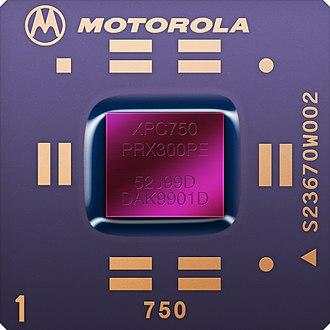 PowerPC 7xx - Image: MPC750