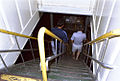 MS TOWADA MARU2 A stairway between Entrance hall and Wagon deck platform.jpg