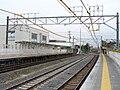 MT-Ajiyoshi Station-Platform (temporary) 4.jpg