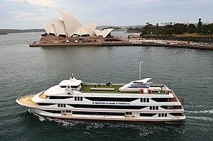 MV Sydney 2000 - Image: MV Sydney 2000, Sydney Cove, 2013