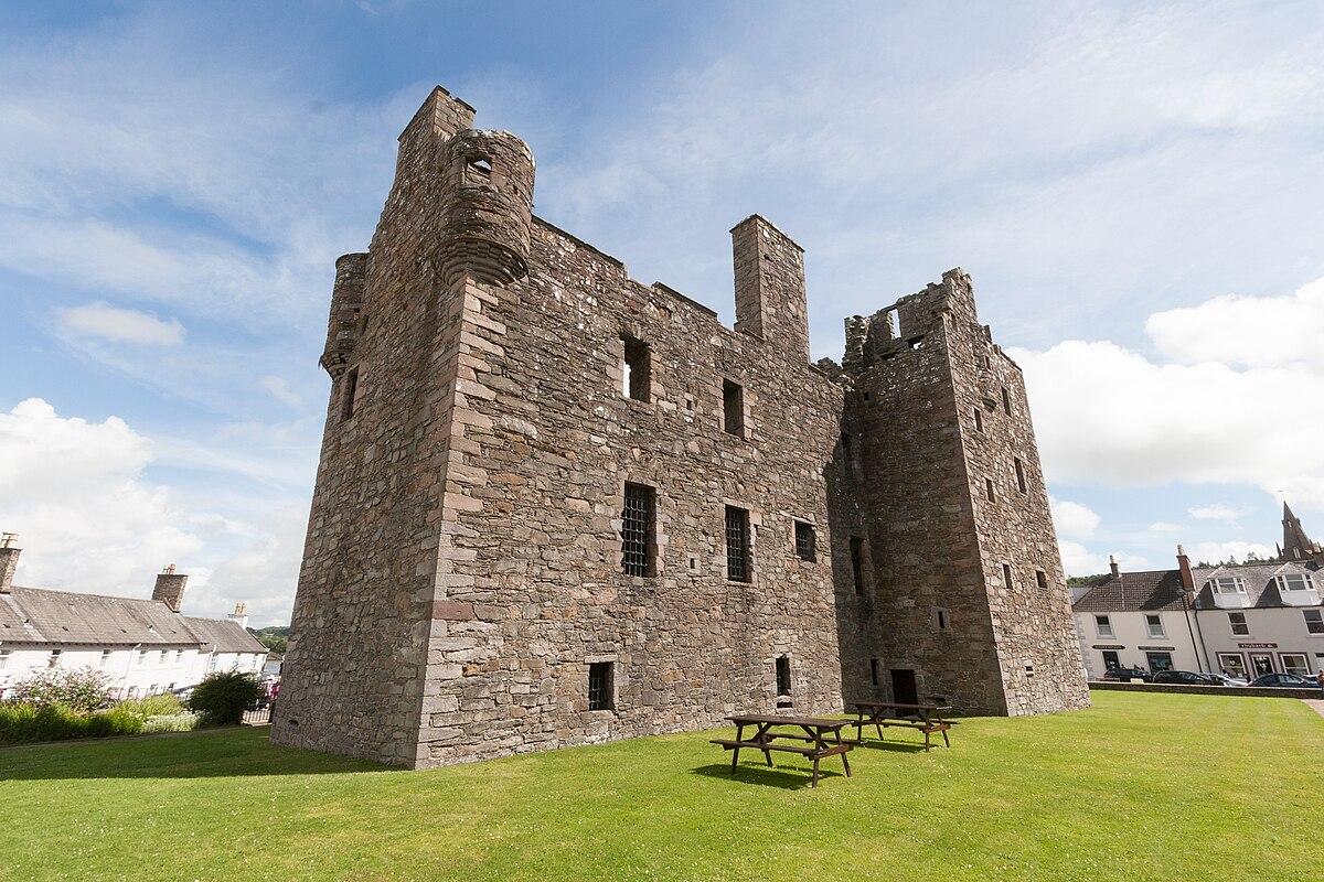 MacLellan's Castle - W...