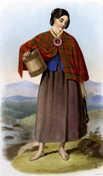 R. R. McIan - A member of Clan MacNeacail, from The Clans of the Scottish Highlands (1845).