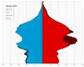 Macau single age population pyramid 2020.png