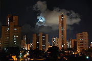Recife at night.