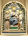 Madonna and Child with Saints, Benedetto Buglioni, Italy, c. 1500-1520 - Nelson-Atkins Museum of Art - DSC08566.JPG