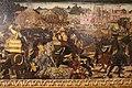 Maestro di san miniato (attr.), fronte di cassone con storie di alessandro, 1450-1500 ca. 03.JPG
