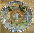 Maestro giorgio di gubbio, piatto con soldati e cupido, 1524.JPG