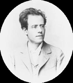 Portrait de Gustav Mahler en 1898.