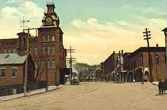 Pembroke, New Hampshire - Main Street in Suncook, c. 1910