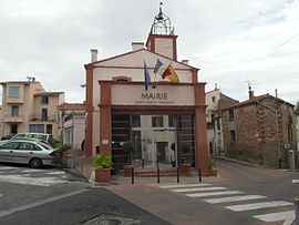 The town hall in Canohès