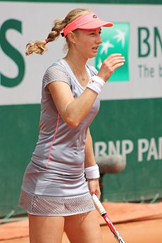 Ekaterina Makarova earned a  million dollar salary - leaving the net worth at 7 million in 2018
