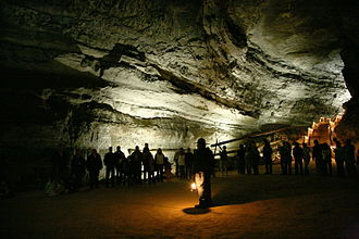 Mammoth Cave National Park - A ranger-guided tour of the cave