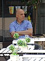 Man in Cafe - Sofia - Bulgaria (41067861190).jpg