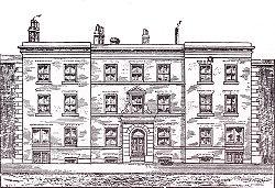Manchester Mechanics' Institute, Cooper Street in 1825