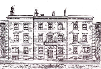 University of Manchester Institute of Science and Technology - Manchester Mechanics' Institute, Cooper Street in 1825