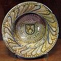Manises, scodella con lustro metallico, 1500 ca. 01.JPG