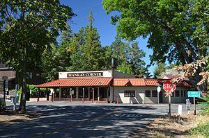 Mankas Corner, California - Image: Mankas Corner, Solano County