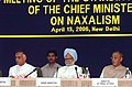Manmohan Singh at the 2nd Meeting of Standing Committee of Chief Ministers of Naxal affected States, in New Delhi. The Union Home Minister.jpg