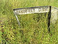 Manorfield Close sign, Capenhurst - DSC06435.JPG