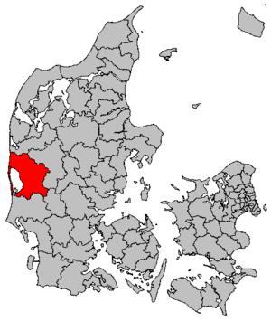 Ringkøbing-Skjern Municipality - Location map