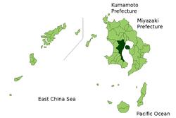 鹿児島市の位置