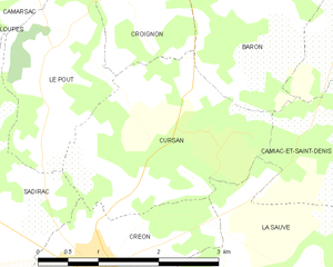 Map commune FR insee code 33145.png
