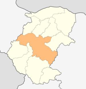 Montana Municipality - Montana municipality within Montana Province