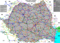 Map of Romanian roads quality 2013.png