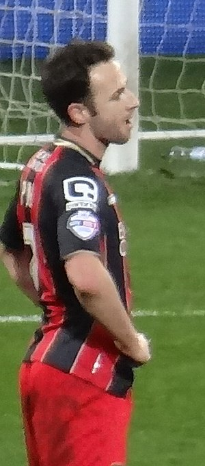 Marc Pugh - Pugh playing for Bournemouth in 2015