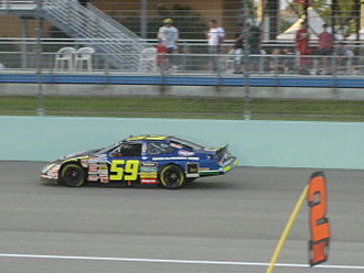Marcos Ambrose - Marcos Ambrose during the 2007 Ford 300 at Homestead-Miami Speedway.
