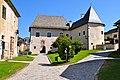 Maria Saal Domplatz Kapitelhaus über Torbau und Westteil 13092011 566.jpg