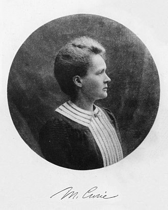 Professor - Marie Curie as a professor