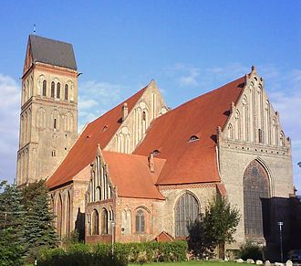 Anklam - St. Mary in Anklam