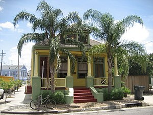Faubourg Marigny - Residential architecture in Faubourg Marigny
