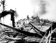 A l'assaut de Tarawa,novembre 1943