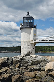 Marshall Point Light lighthouse in Maine, United States