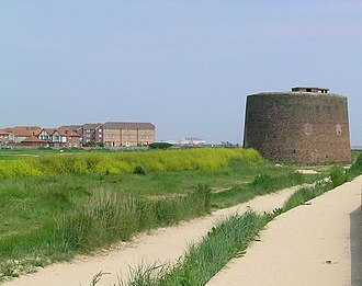 Jaywick - The Martello Tower, now an arts centre