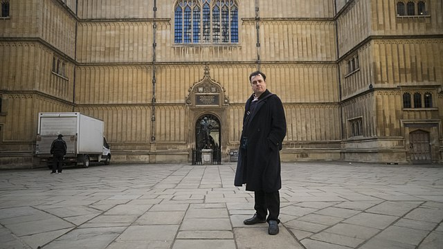 Martin Poulter, Wikimedian in Residence at the Bodleian Libraries Oxford – image by Jwslubbock CC BY-SA 4.0