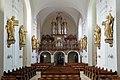 Martinskirche Klosterneuburg Richtung Orgelempore.JPG