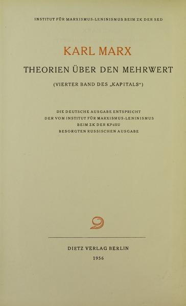 Datei:Marx - Theorien über den Mehrwert, 1956 - 5708926.tif