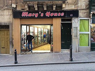 Mary's House after the reopening in 2015 Mary's House Sliema Malta, and current owner.jpeg