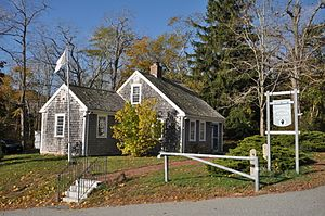National Register of Historic Places listings in Barnstable County, Massachusetts - Image: Mashpee MA Avant House